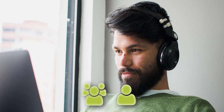 Virtual language courses